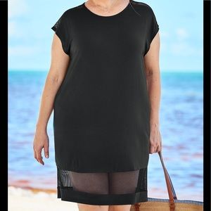 Swimsuits For All NWT Mesh Tee Cover Up, 26/28